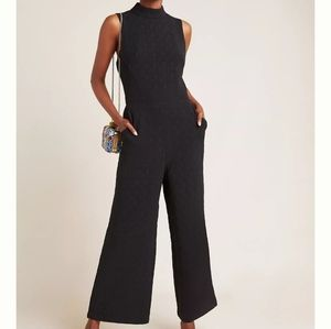 NWT Anthro Eva Franco Charley Mock Neck Jumpsuit
